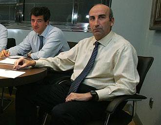 Miguel Ángel Gil Marín y Fernando García Abásolo