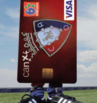 Cartel promocional de Caja Navarra