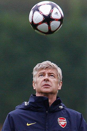 Arsene Wenger, entrenador del Arsenal