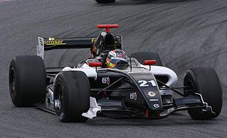 Monoplaza de Epsilon Euskadi en las World Series Renault