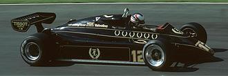 Nigel Mansel, en un Lotus