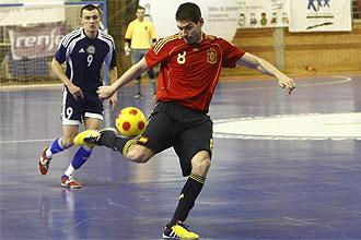 Espa�a juega contra Kazajist�n en el PreEuropeo de Badajoz