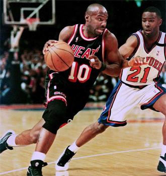 Tim Hardaway marc� una �poca en los Miami Heat.