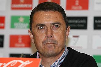 José Miguel Campos, durante una rueda de prensa.