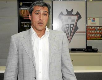 Pepe Murcia, en las oficinas del Albacete.