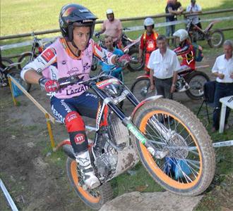 Laia Sanz en la �ltima prueba del campeonato