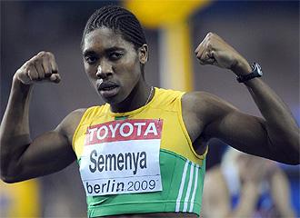 Semenya, tras proclamarse campeona del mundo