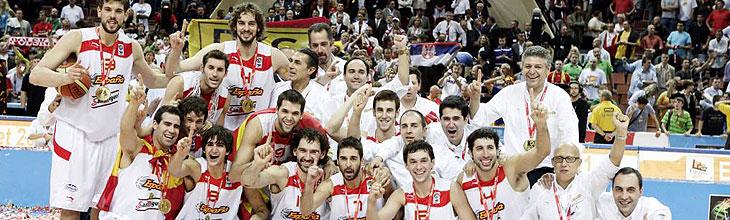 España, campeona del Eurobasket
