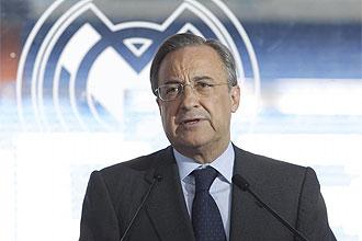 Florentino Pérez, en rueda de prensa