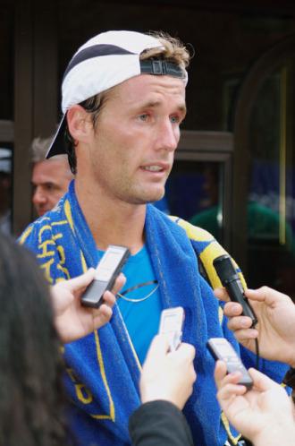 Daniel Gimeno-Traver durante el torneo de Banja Luka.