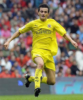Joseba Llorente, en un momento del partido frente al Athletic.