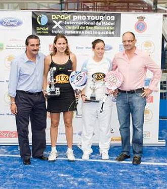 Patricia Llaguno y Cecilia Reiter consiguen su primer t�tulo del P�del Pro Tour.