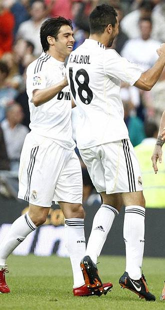Kaká y Albiol son junto a Casillas los únicos que no han rotado