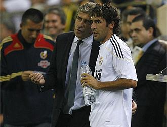 Pellegrini habla con Raúl