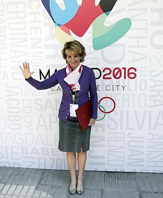 Esperanza Aguirre apoyar� a la candidatura en Copenaghe