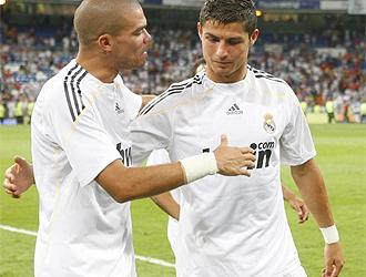 Pepe y CR9 hablan tras un partido