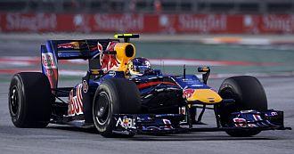 Alguersuari no tuvo fortuna en Singapur.