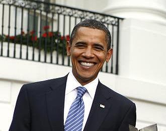 Obama durante un acto en la Casa Blanca