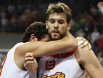 Marc Gasol durante el pasado Eurobasket
