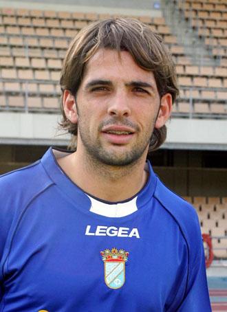 Víctor Sánchez, en su presentación como jugador del Xerez.