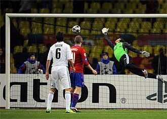 Primer gol del CSKA de Mosc�.