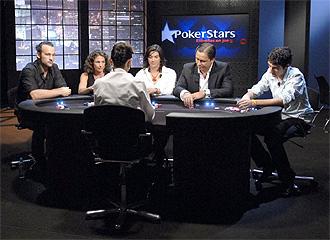 Partida organizada por Pokerstars.