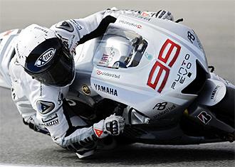 El piloto español Jorge Lorenzo