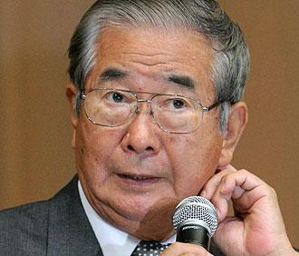 El gobernador de Tokio, Shintaro Ishihara