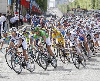 Última etapa del Tour 2009