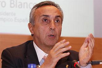 Alejandro Blanco, presidente del COE, en una imagen de archivo