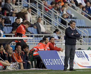Pepe Murcia decidi� cambiar el plan de entrenamientos de esta semana en el Albacete tras la derrota ante el C�diz