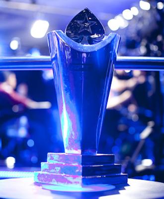 Imagen del trofeo del EPT de Londres.