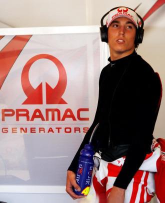 El joven piloto espa�ol Aleix Espargar�.