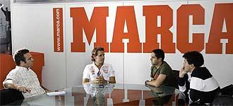 Soucek responde a las preguntas de los redactores de MARCA.