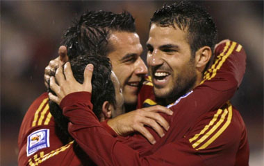 Armenia 1-2 España