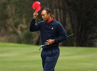Tiger Woods, en la �ltima jornada del torneo