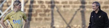 Torres y el m�dico de la selecci�n