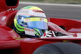 Massa, a los mandos de un monoplaza Ferrari en Fiorano.