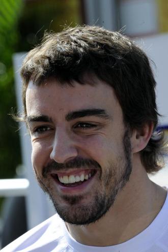 El piloto espa�ol Fernando Alonso.