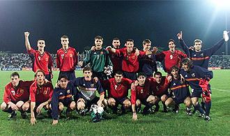 La selección española que ganó el Mundial sub 20