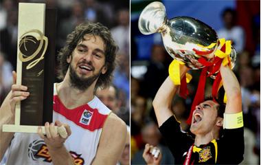 Gasol y Casillas