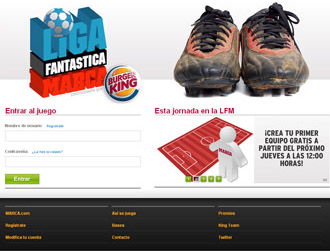 La nueva Liga Fantástica, patrocinada por Burguer King estrena diseño y nuevos espacios.