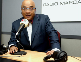 Andrés Montes, en su etapa en Radio MARCA