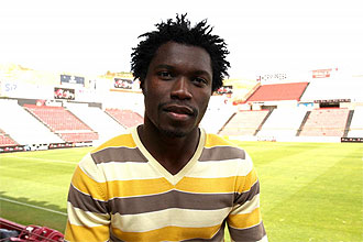 Serge N'Gal, delantero camerunés del Nástic.