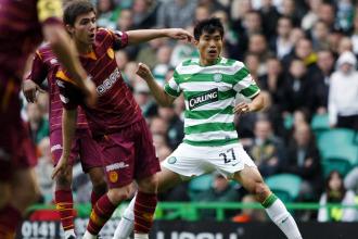 El Celtic no pudo con el Motherwell.