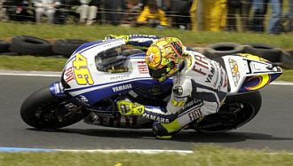 Rossi saldr� segundo en Phillip Island.