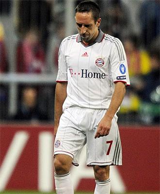 Franck Ribery tampoco estará en el trascendetal partido ante el Girondis
