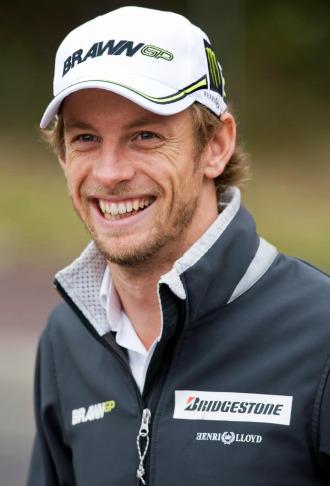 Jenson Button, flamante campeón del mundo de F1.