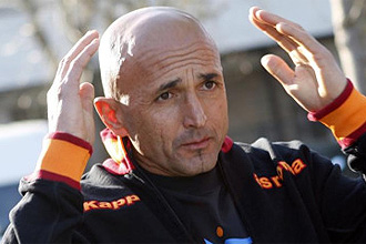Spalletti, en su época de entrenador de la Roma
