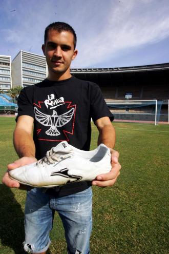 El argentino Emiliano Armenteros, jugador del Xerez.